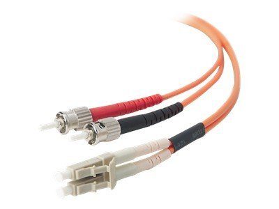 Belkin Fiber Patch Cable, LC-ST, 62.5 125, Duplex, Multimode, TAA Compliant, 3m, LCST625-03M-TAA, 11515131, Cables