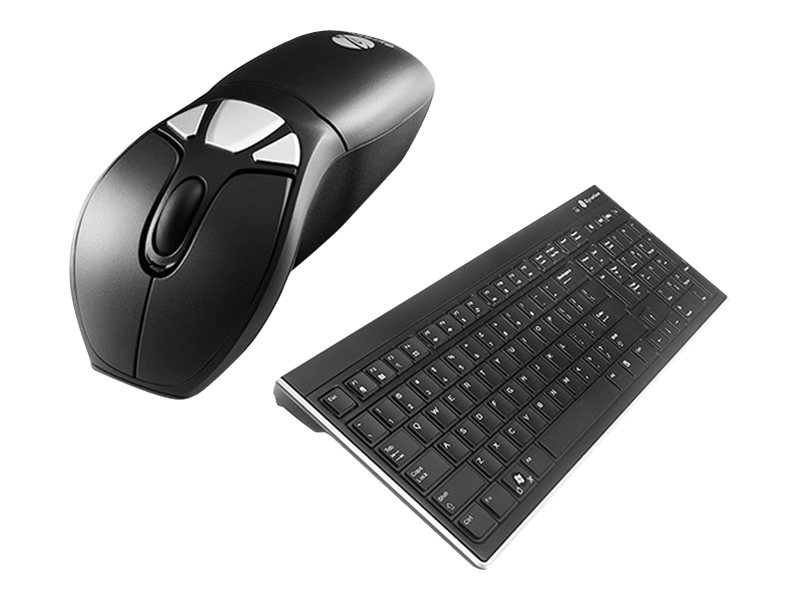 Gyration Air Mouse GO Plus Combo with Low Profile Keyboard, GYM1100FKNA, 9212288, Keyboard/Mouse Combinations