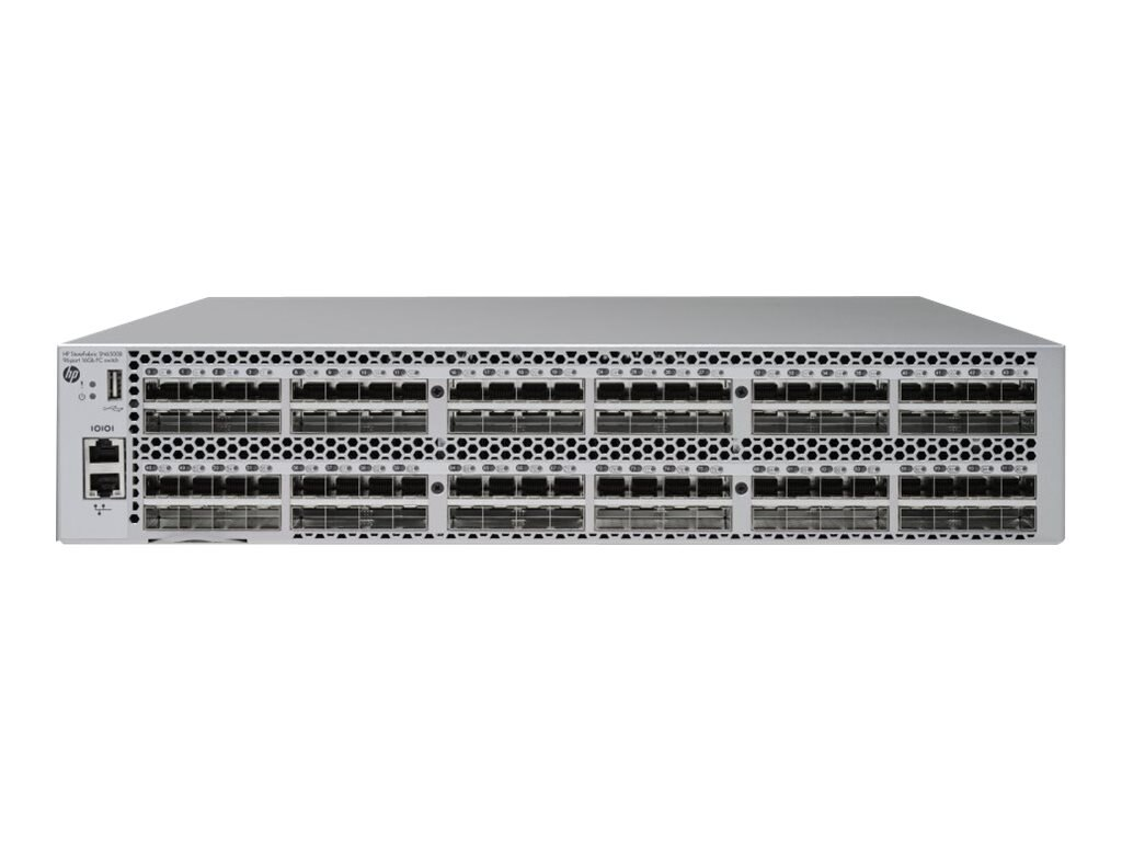 HPE StoreFabric SN6500B 16Gb 96 48 Port Side Air Intake Fibre Channel Switch, E7X98A, 17048861, Network Switches