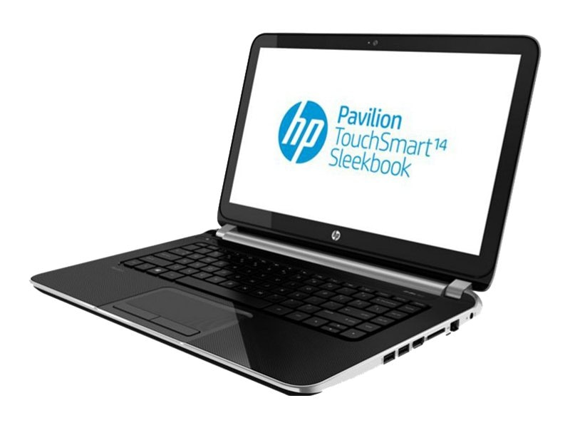 HP Pavilion TouchSmart 14-f020us : 1.5GHz A4-Series 14in display
