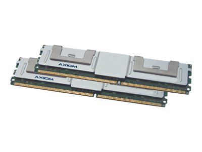 Axiom 16GB PC2-5300 240-pin DDR2 SDRAM DIMM Kit, AXG17991800/2, 15150941, Memory