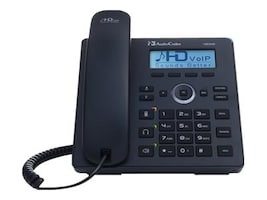 AudioCodes Lync 420HD Phone, PoE GE, 2-lines, 10 100 1000 ports, UC420HDEPSG, 31840432, VoIP Phones