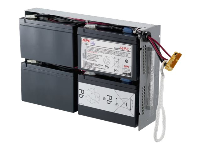 APC Replacement Battery Cartridge #24 (RBC24) for SU1400RM2U series, SUA1500RM series, DLA1500RM2U, RBC24