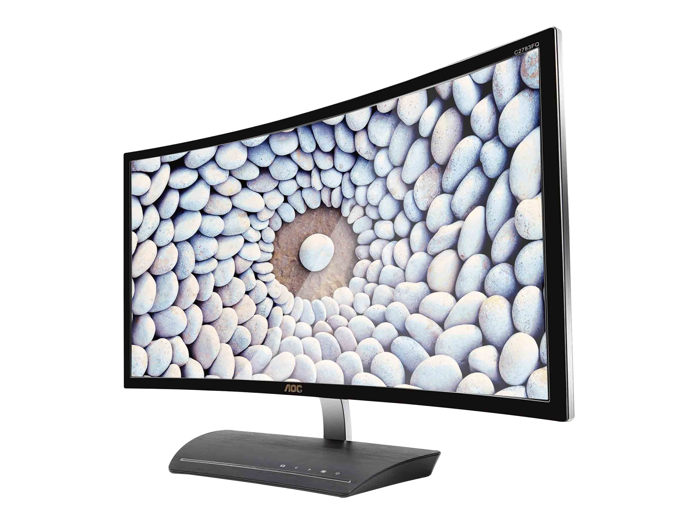 AOC 27 C2783FQ Full HD LED-LCD Curved Monitor, Black, C2783FQ, 30711639, Monitors - LED-LCD