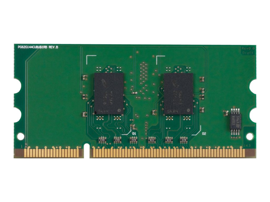 HP 256MB PC2-3200 144-pin DDR2 SDRAM UDIMM for Select LaserJet Printers, CB423A, 7479376, Memory