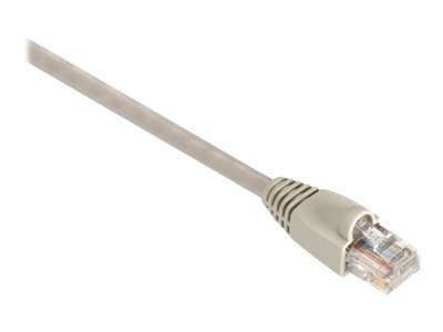 Black Box GigaTrue CAT6 550MHz UTP Snagless Channel Patch Cable, Beige, 5ft
