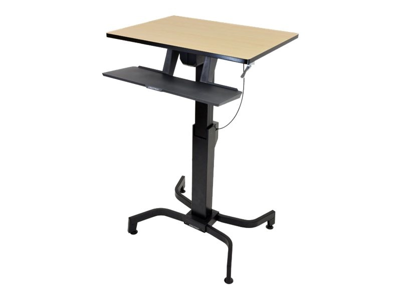 Ergotron WorkFit-PD, Sit-Stand Desk (birch), 24-280-928