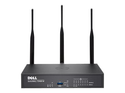 SonicWALL TZ400 WL-AC w TotalSecure (1 Year), 01-SSC-0516, 22244882, Network Firewall/VPN - Hardware