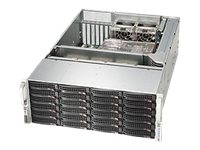 Supermicro SuperChassis 846BE16 4U RM (2x)Intel AMD 24x3.5 HS Bays 7xExpansion Slots 5xFans 2x1280W RPS, CSE-846BE16-R1K28B, 15274354, Cases - Systems/Servers