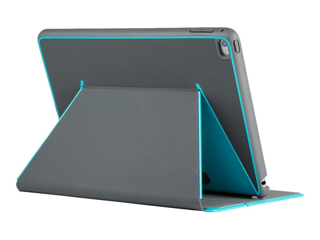 Speck DuraFolio Case for iPad Air 2, Slate Gray Peacock, SPK-A3351, 18558846, Carrying Cases - Tablets & eReaders