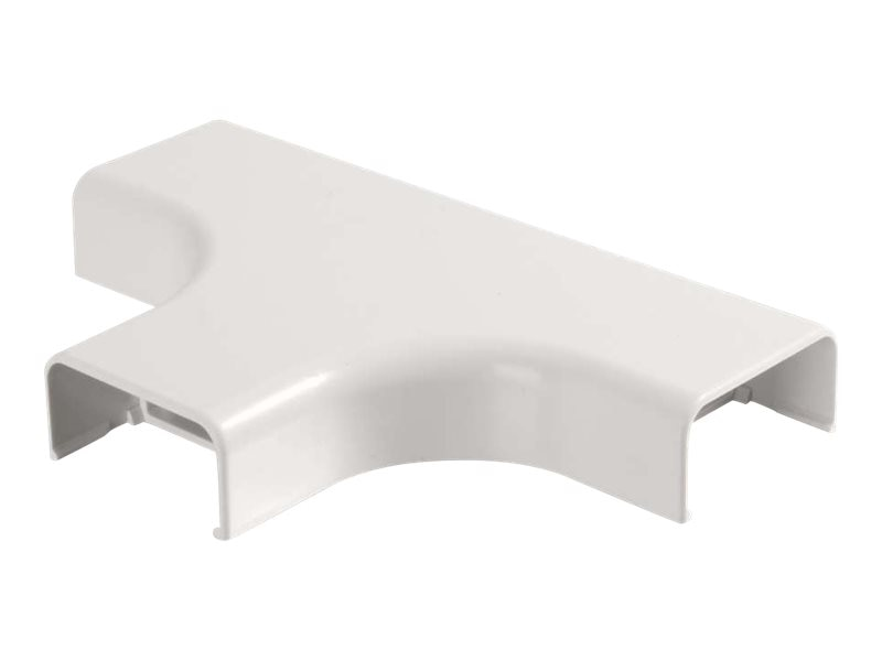 C2G Wiremold Uniduct 2900 Bend Radius Compliant Tee, White