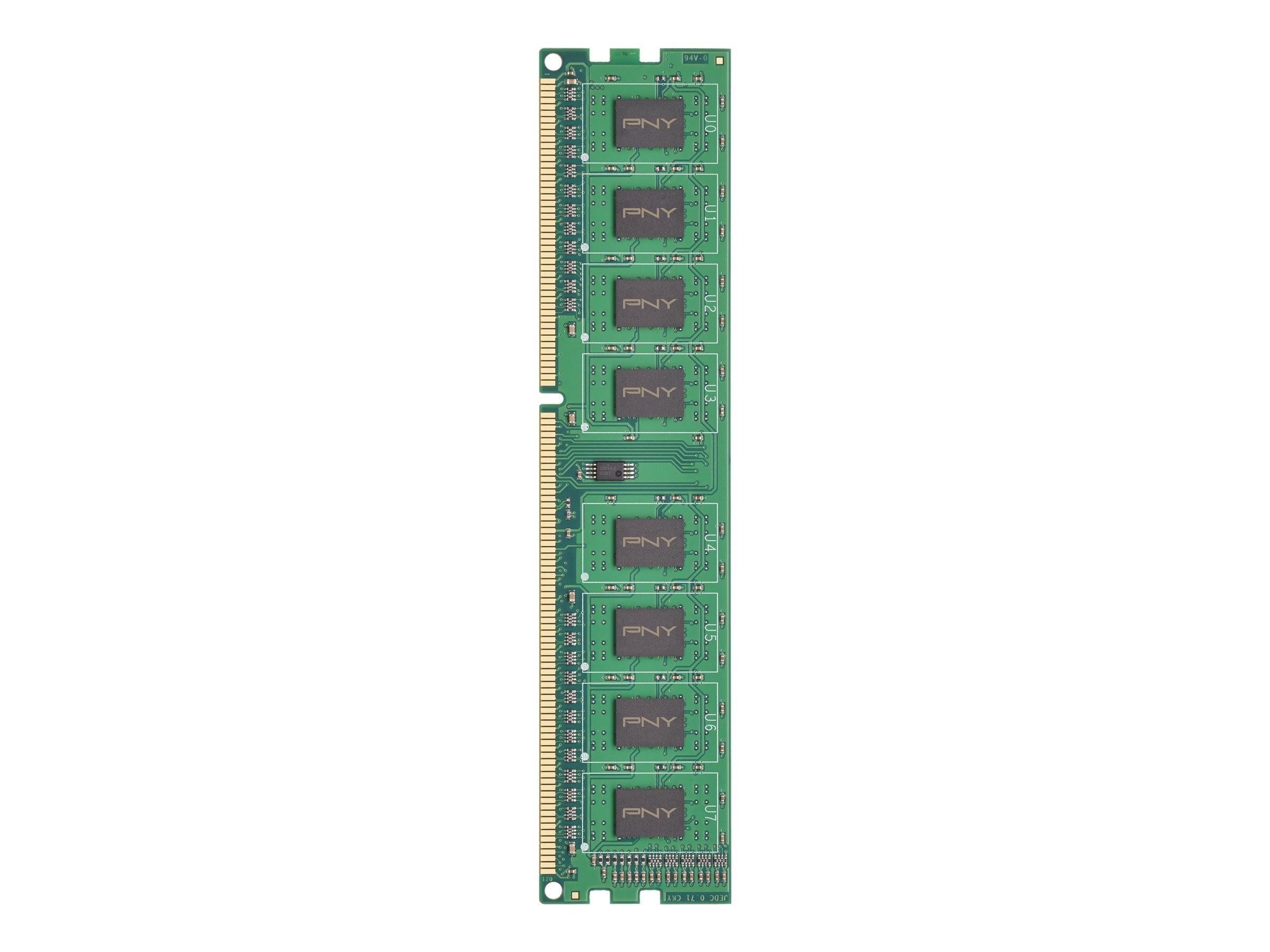 PNY 4GB PC3-10666 240-pin DDR3 SDRAM DIMM