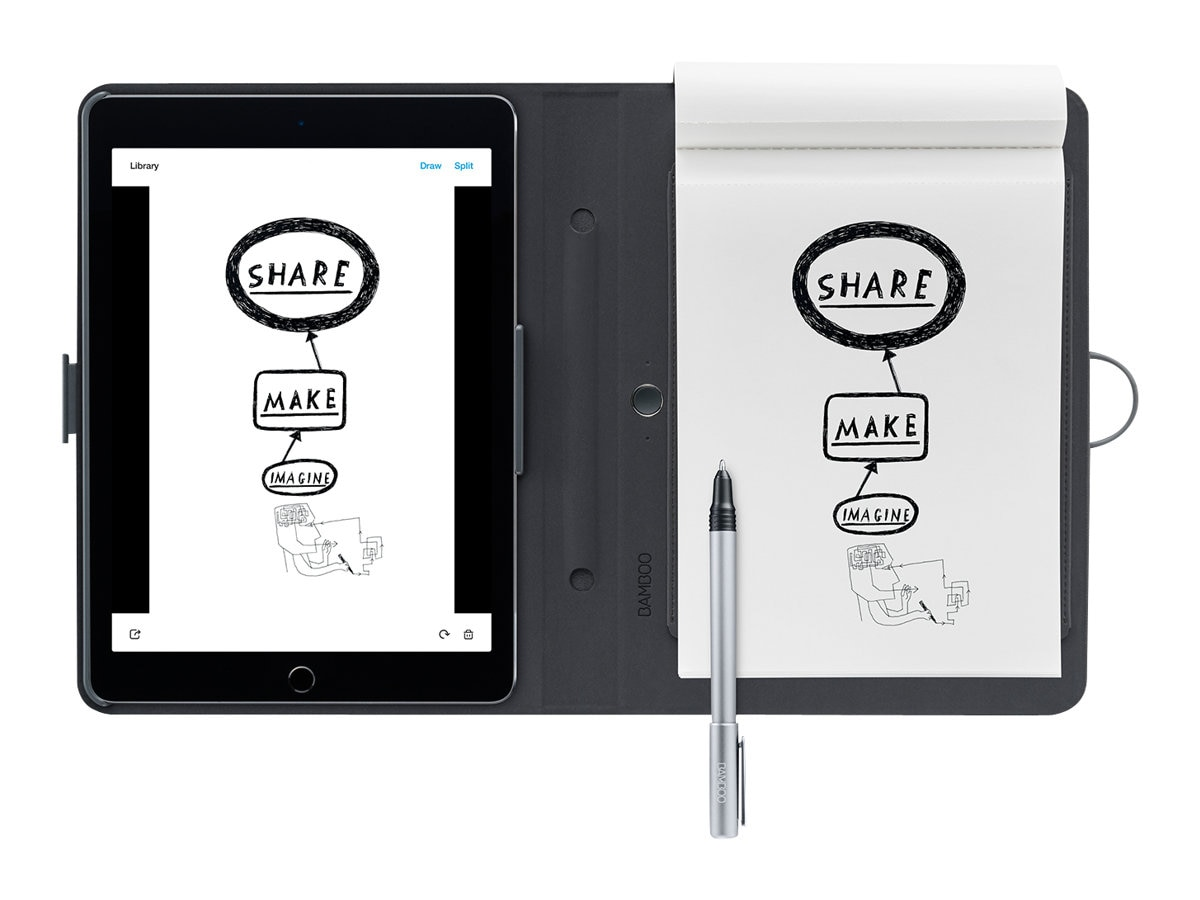 Wacom Bamboo Spark with Snap-fit for iPad Air 2, CDS600C