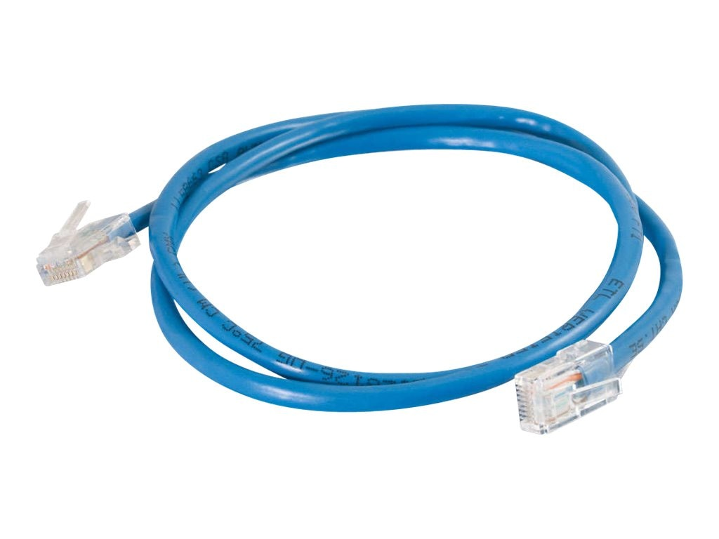 C2G Cat5e Non-Booted Unshielded (UTP) Network Patch Cable - Blue, 15ft