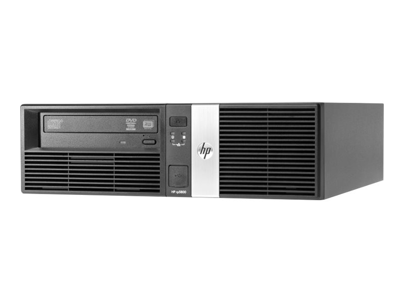 HP rp5800 POS Desktop Core i3-2120 3.3GHz 3MB 4GB 250GB DVD-ROM GigNIC W7P64
