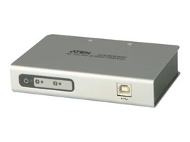 Aten 2-Port USB to Serial RS-232 Hub, UC2322, 8627107, KVM Switches