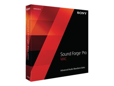 Sony Sound Forge 10 Pro Mac v2, SFM2000, 16912688, Software - Music, Recording & Sound Editing