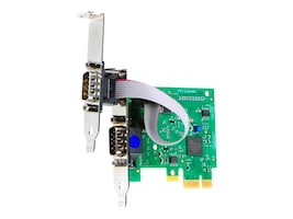 Brainboxes Intashield Low Profile PCIe 1+ 1 x RS232 Serial Card, IX-250, 16150257, Controller Cards & I/O Boards