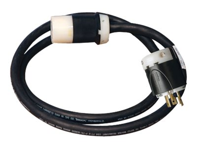Tripp Lite Power Cord Extension Cable 208 240V Whip 10AWG, L6-30R - L6-30P, 3ft, SUWEL630C-3, 11571597, Power Cords