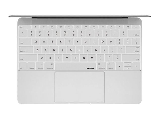 Macally Keyboard Cover, Silver, KBGUARDMBSL