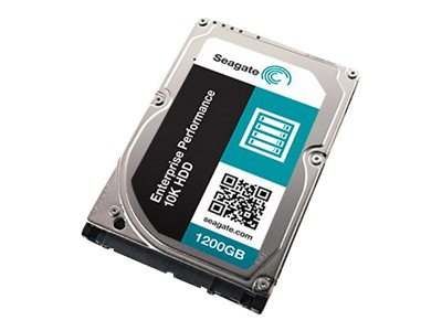 Seagate 1.2TB Enterprise Performance 10K SAS 12Gb s 4K Native 2.5 Internal Hard Drive - TurboBoost Model