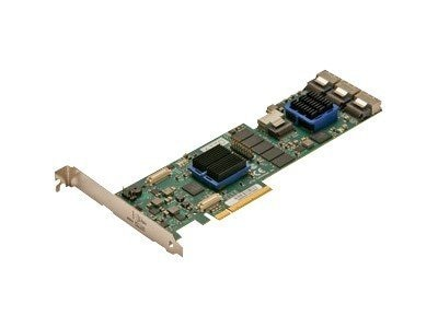 Atto 16-Port Internal 6Gb s SAS SATA RAID Adapter, ESAS-R60F-C00, 28504690, RAID Controllers
