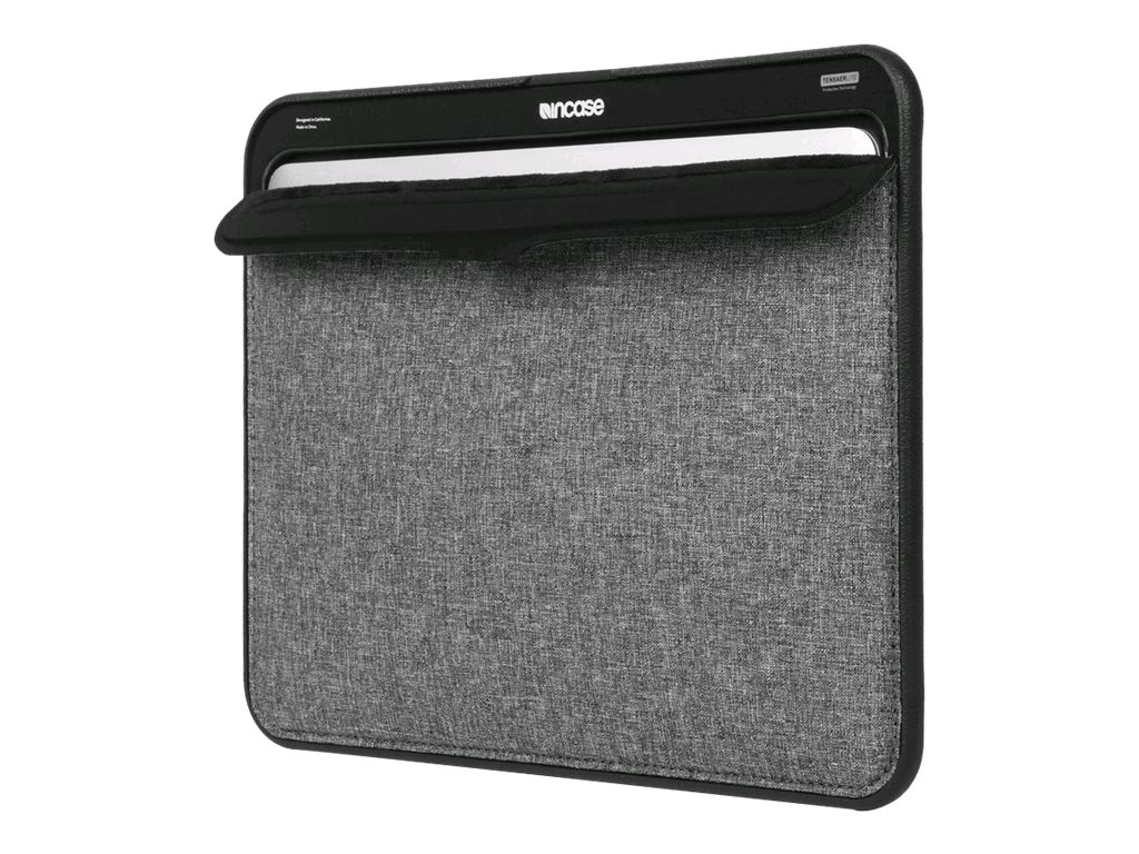 Incipio Incase ICON Sleeve with TENSAERLITE for 13 MacBook Air, Heather Gray Black