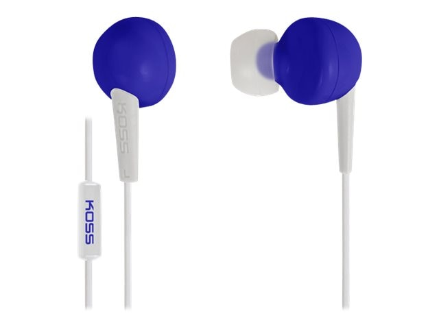 Koss Earbud In Ear Bud - Blue, 181040, 16778386, Headphones