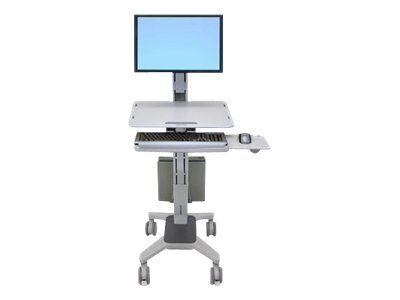 Ergotron WorkFit C-Mod, Single LD Sit-Stand Workstation, 24-198-055