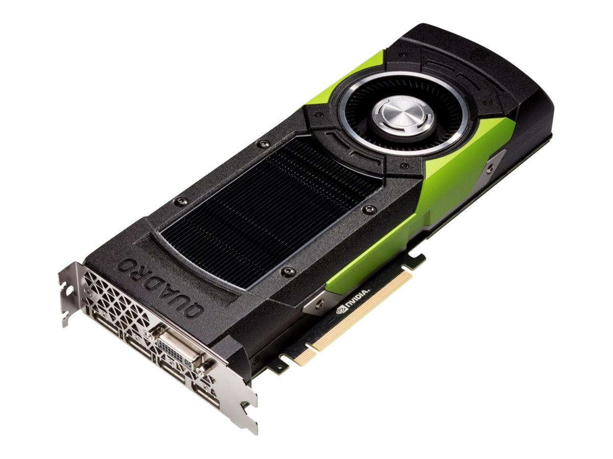 HP NVIDIA Quadro M6000 PCIe 3.0 x16 Graphics Card, 12GB GDDR5, L2K02AA, 30573619, Graphics/Video Accelerators