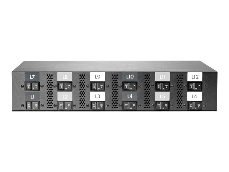 HPE Intelligent Power Distribution Unit 17.3kVA 415V 24A 3-phase (12) C19 Outlet Core NA JP, AF537A, 13754080, Power Distribution Units