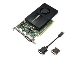 PNY NVIDIA Quadro K2200 PCIe 2.0 x16 Graphics Card, 4GB GDDR5, VCQK2200-PB, 17692373, Graphics/Video Accelerators