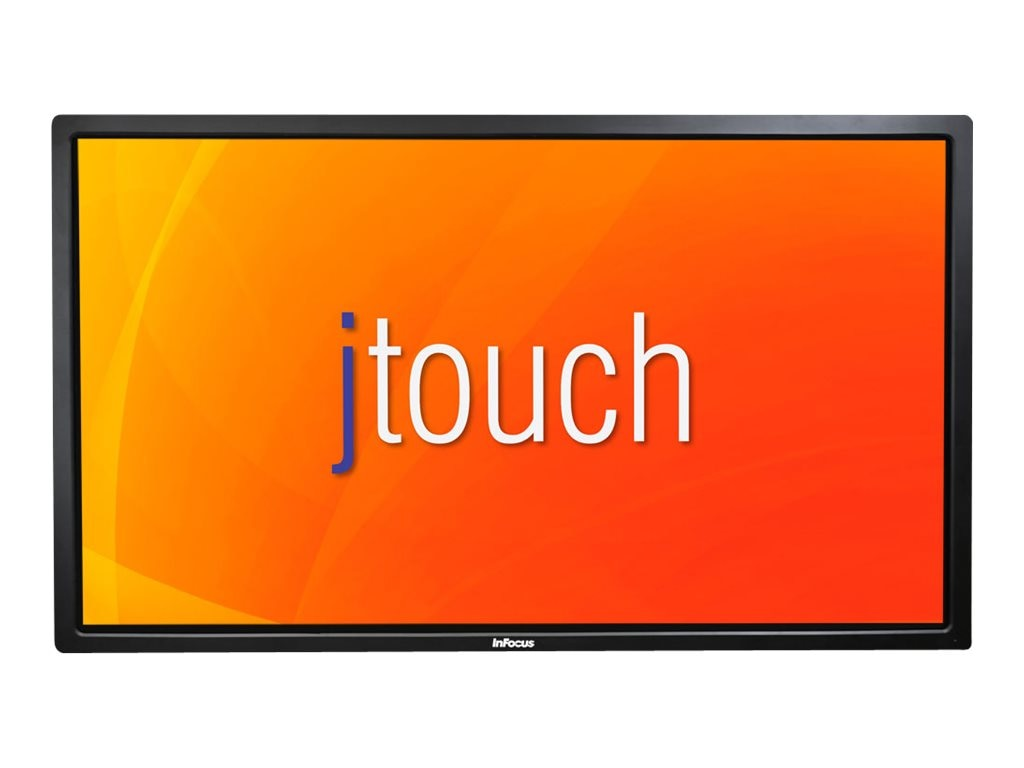 InFocus 80 JTouch Full HD LED-LCD Touchscreen Display, Black, INF8001, 31202182, Monitors - Large-Format LED-LCD