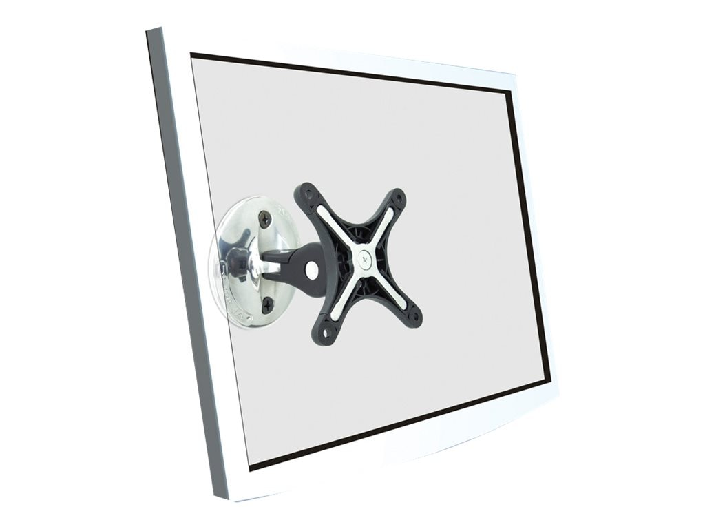 Atdec Visidec Direct Wall LCD Mount for 12 to 24in, Silver