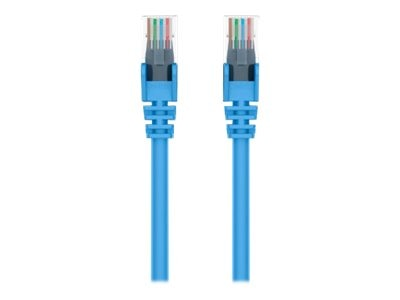 Belkin Cat6 UTP Patch Cable, Blue, Snagless, 6ft, A3L980-06-BLU-S