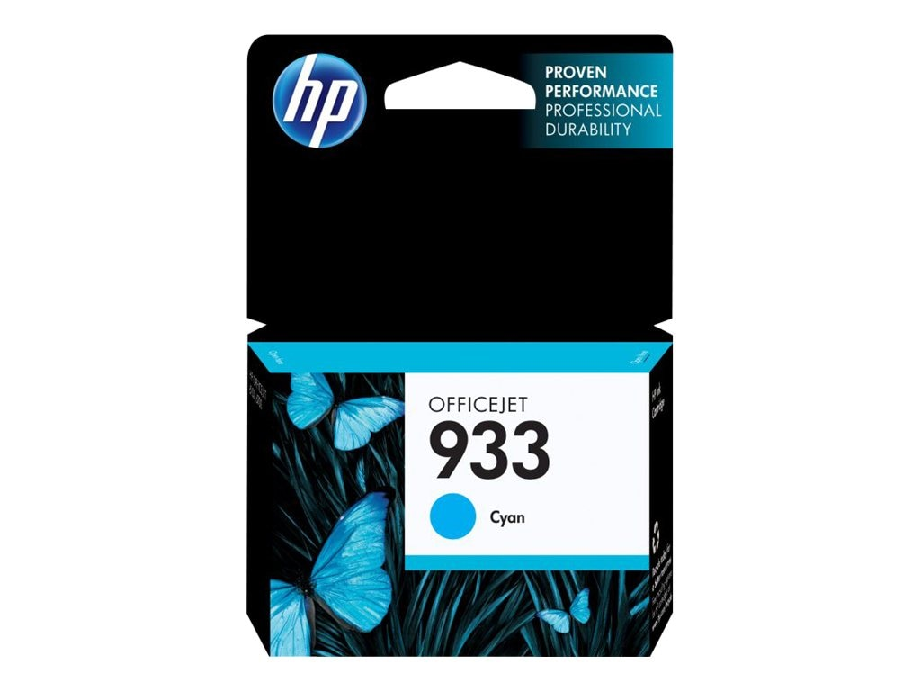 HP 933 (CN058AN) Cyan Original Ink Cartridge