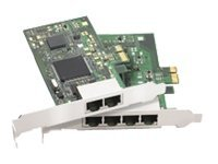 Perle Ultraport 2 Express 2-Port RJ45 Low Profile PCIE Controller, 04003010, 6215424, Controller Cards & I/O Boards