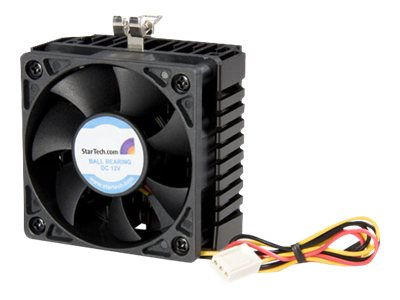 StarTech.com Cooling Fan and Heatsink, 6cm, Pentium III AMD Socket 7 370 TX3 Connection, FAN370PRO, 206242, Cooling Systems/Fans