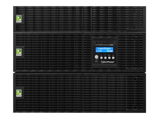 CyberPower Smart App Online 6,000VA 5400W 8U R T Pure Sinewave UPS, (15) Outlets, OL6000RT3UTF, 14530985, Battery Backup/UPS