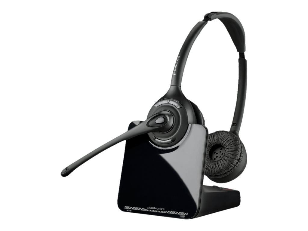 Plantronics CS520XD 900MHZ Over-The-Head Binaural Headset (NA), 8828501, 15658622, Headsets (w/ microphone)