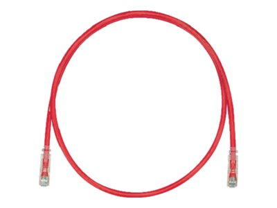 Panduit CAT6 UTP Patch Cable, Red, 1.5m, UTPSP1.5MRDY