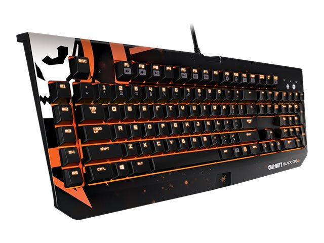 Razer Blackwidow Chroma COD Blackops III Ed Mechanical Keyboard, RZ03-01221800-R3M1