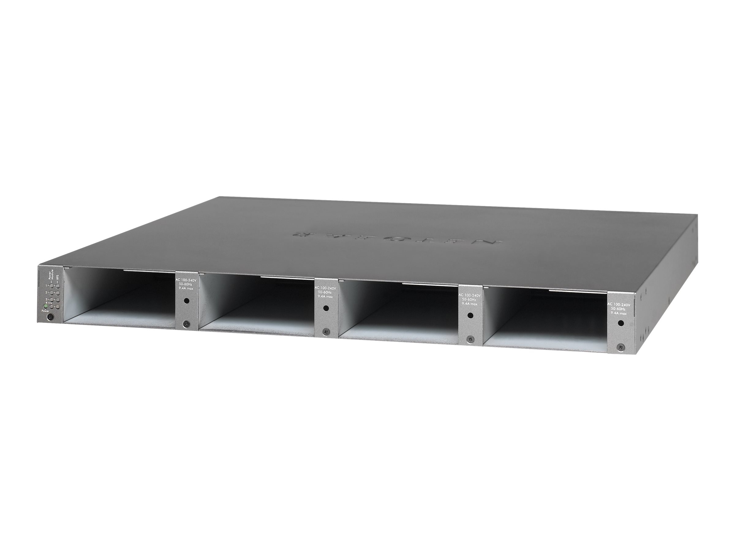 Netgear RPS4000v2 1U Power Shelf, (4) Slots for Power Modules, RPS4000-200NES