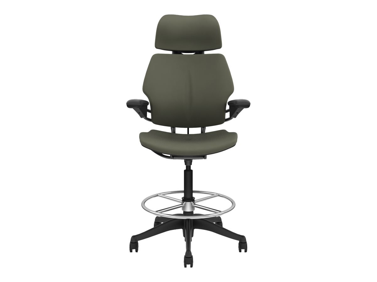 Humanscale Freedom Task Chair with Headrest, Vellum Ash, F211GV106-GF----