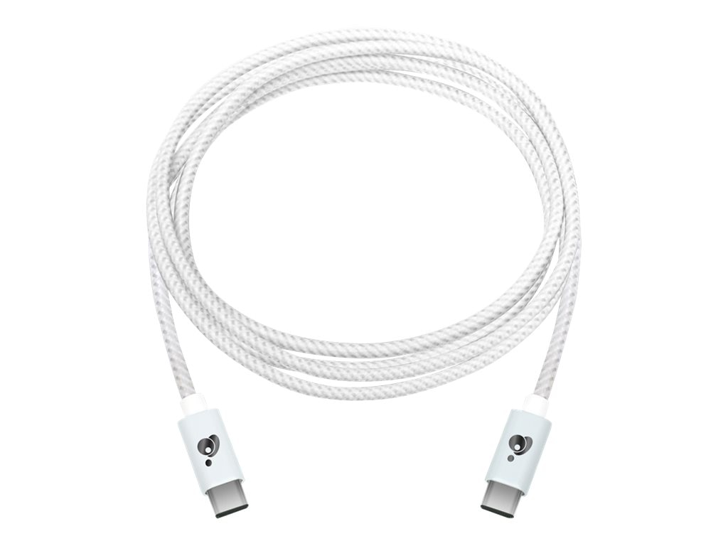IOGEAR USB Type C (USB-C) M M Charge and Sync Cable, White, 2m