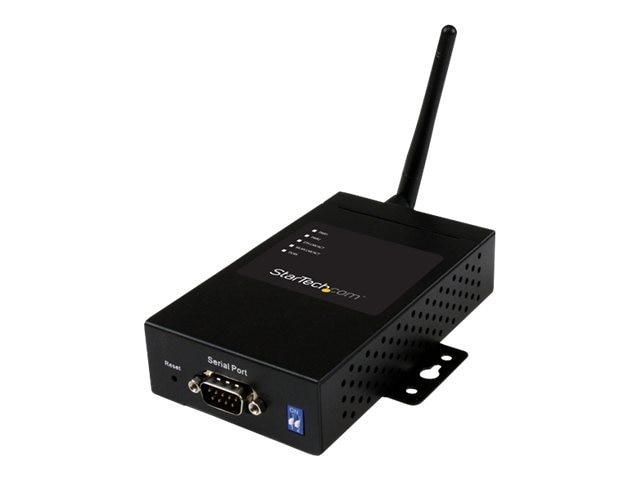 StarTech.com 1-Port Industrial RS-232 422 485 Serial-to-IP Ethernet Wireless Device Server w  Redundant Power, NETRS232485W, 16881447, Remote Access Servers