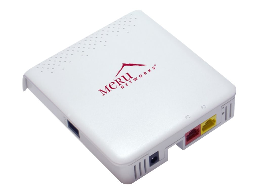 Meru AP122 11AC 54MB 2.4GHZ WEP Wall Plate Wireless Access Point, AP122, 18000447, Wireless Access Points & Bridges