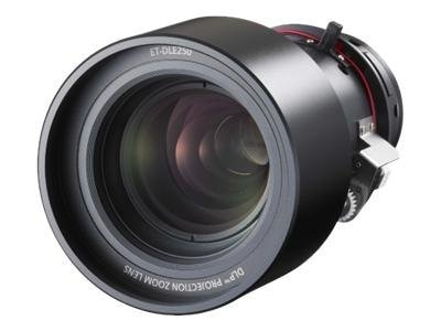 Panasonic Power Zoom Lens 2.4-3.7:1 for PT-DW5100U, DW5100UL, D5700U, D5700UL, ET-DLE250, 10008532, Projector Accessories