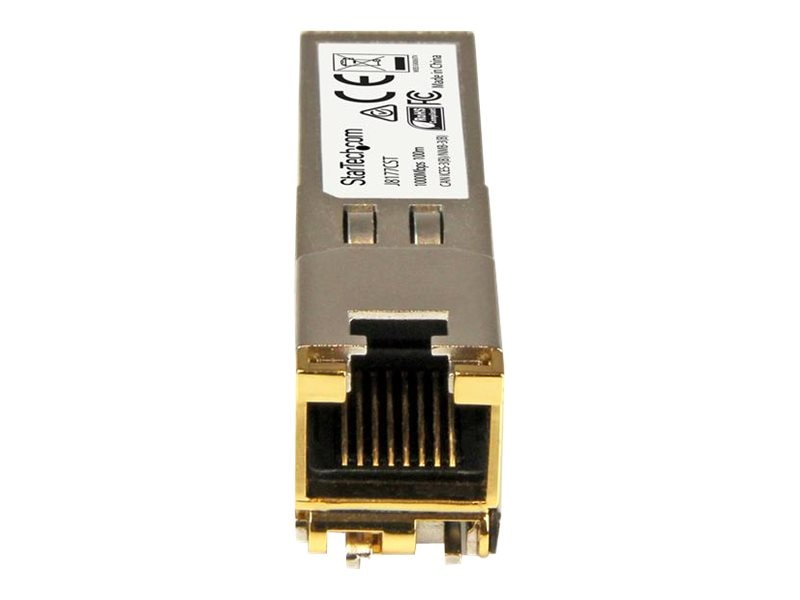 StarTech.com GE RJ-45 Copper SFP Transceiver Module for HP