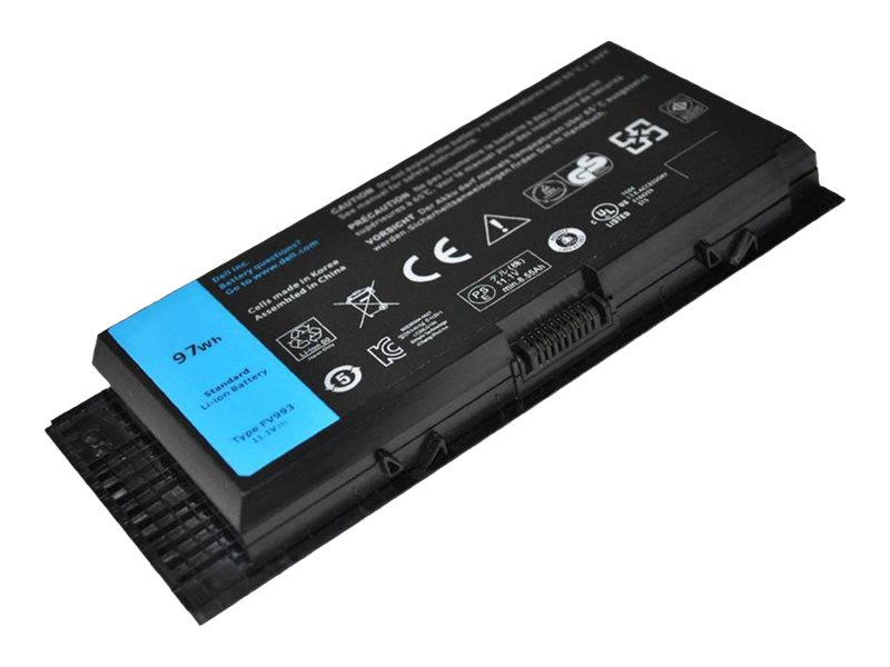 Axiom 97whr 9-Cell Primary Battery for Precision M4800, M6800, 451-BBGO-AX